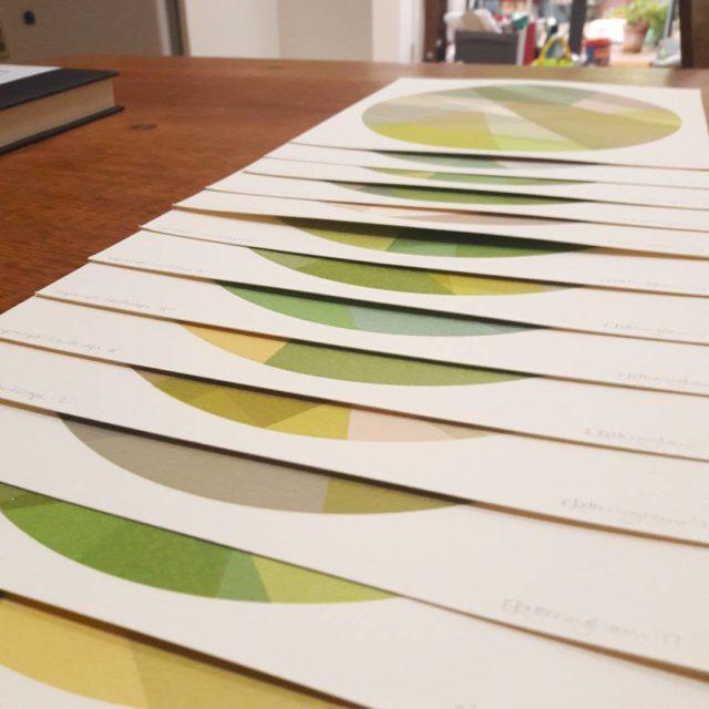 impromptu landscape 13 one of a kind screen prints allhellip