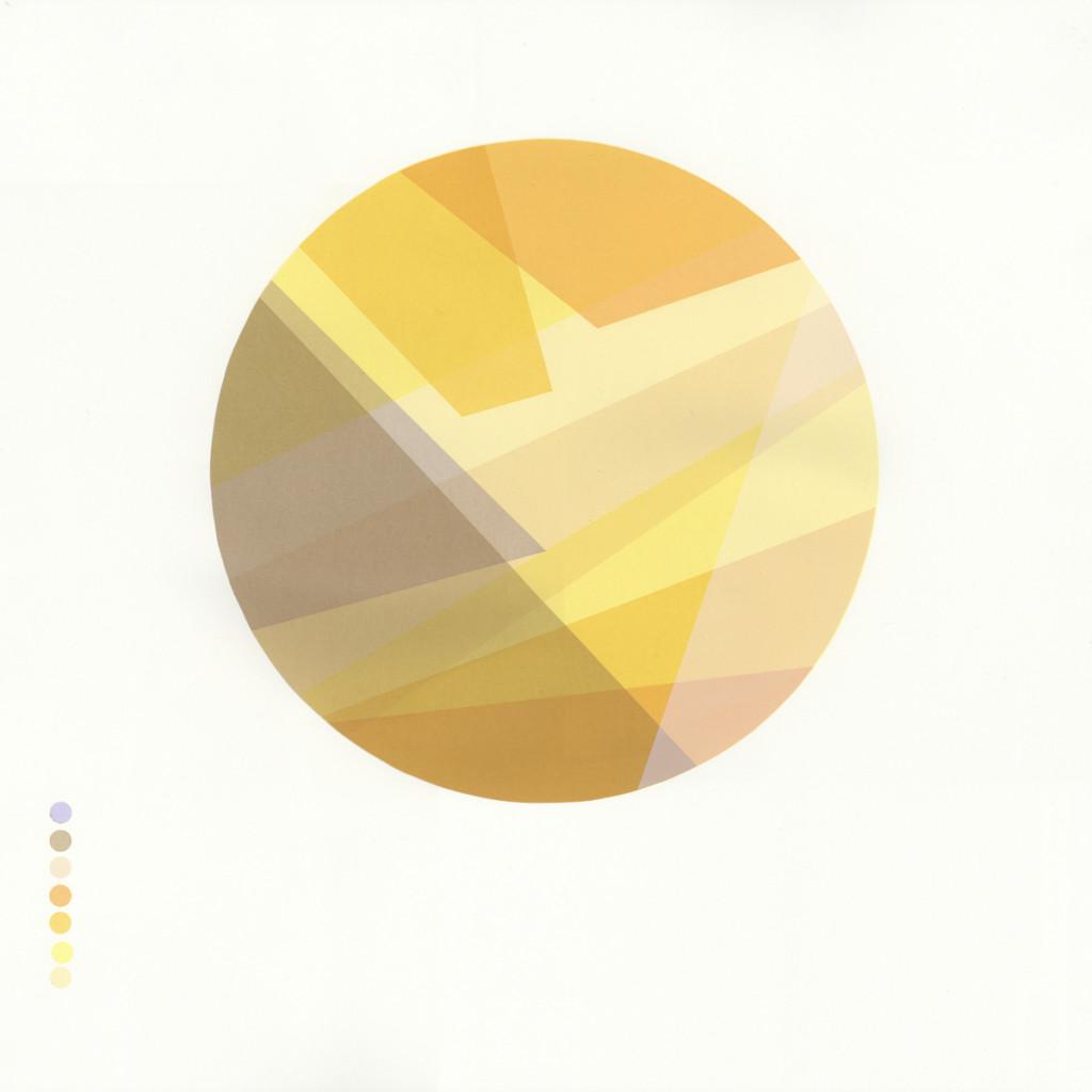 'Geological Series - Bath' 7 colour screenprint 50x50cm