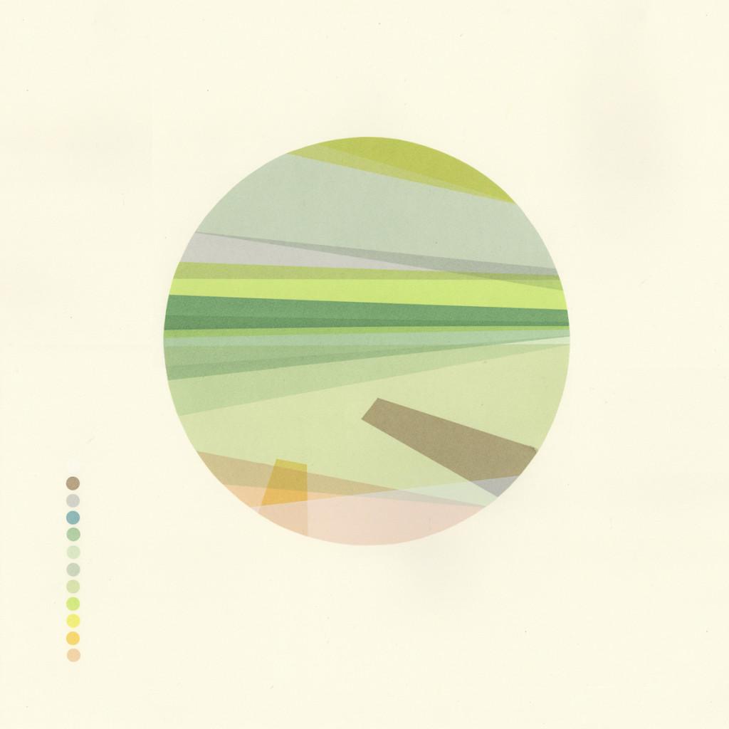 'Geological Series - Brighton' 12 colour screenprint 55x55cm